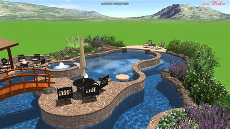 lazy river pools for your backyard calvary custom pools lazy river design