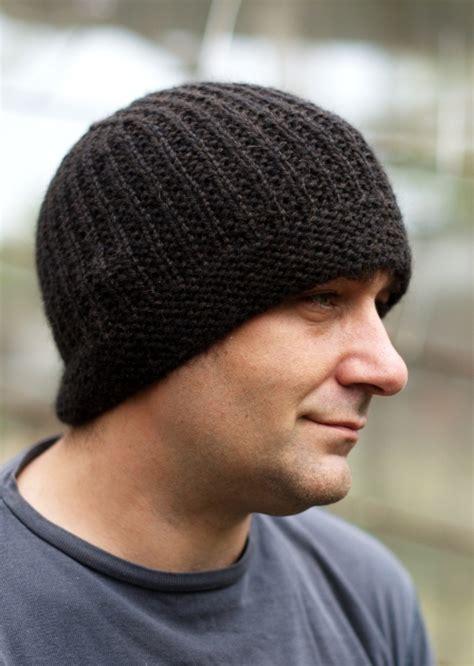 mens knit hat pattern geko beanie woolly wormhead