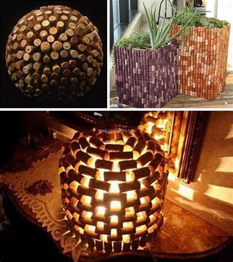 craft projects with wine corks crafts made with wine corks upcycle