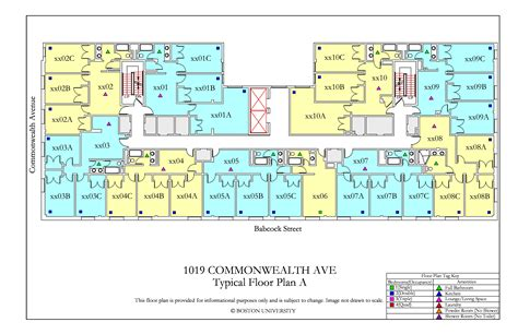 housing floor plans layout bu housing floor plans