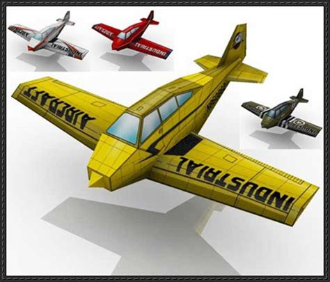 paper craft model new paper craft simple airplane paper models for