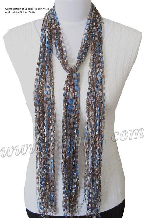 knitting yarn for scarves best 25 ribbon yarn ideas on