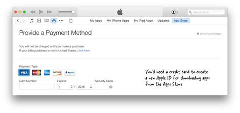 make an itunes account without credit card how to create an apple id for itunes without credit card