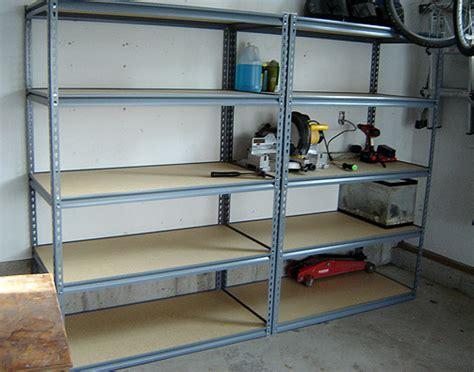 shelves for garage some new shelving for the garage
