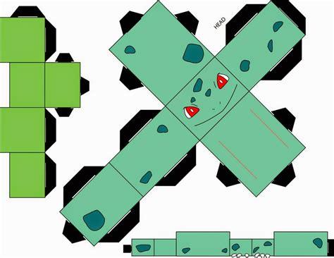 paper cube craft cubecraft pok 233 mon paper papercraft