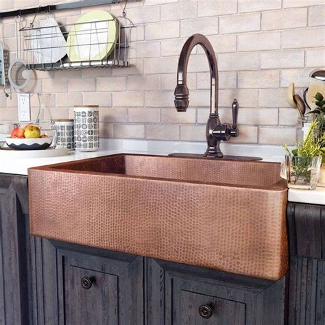 farmhouse copper kitchen sink best 25 copper sinks ideas on farm sink