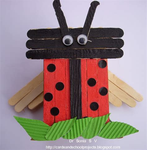 popsicle crafts arts and crafts with popsicle sticks images