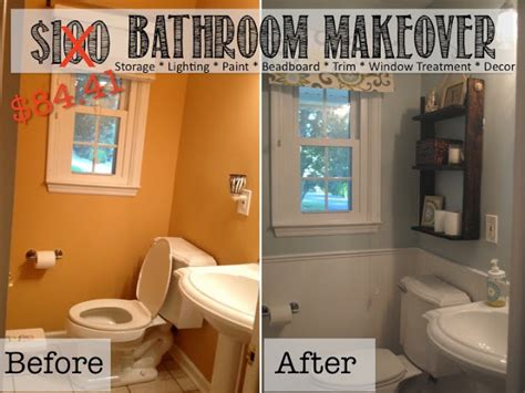 Small Bathroom Makeover Ideas by Two It Yourself Reveal 100 Small Bathroom Makeover