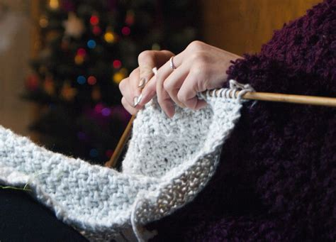 picot bind in knitting how to picot bind to finish a project