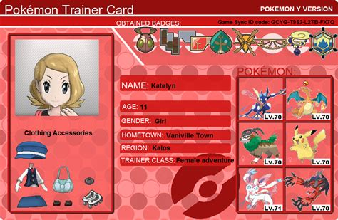 make a trainer card free trainer cards go search for tips