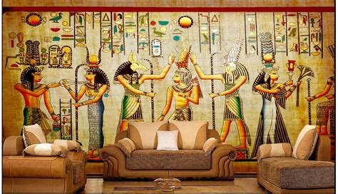 Ancient Egyptian Wall Murals online get cheap 3d wall murals egyptian wallpaper