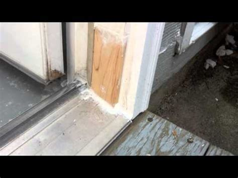 exterior door jamb repair solution for rotten exterior door frame