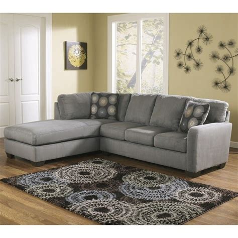 Dining Room Cushions ashley furniture zella microfiber sofa sectional in