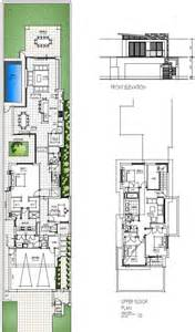 house floor plans for narrow lots 17 best ideas about narrow house plans on