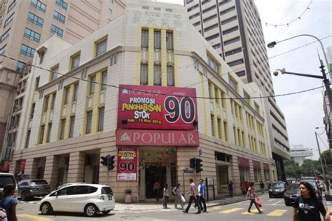rubber st singapore malaysia landmark popular bookstore in petaling