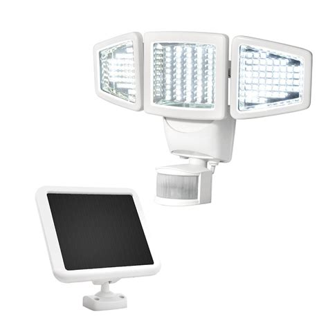 solar security light with motion sensor sunforce solar 150 led new motion sensor security light