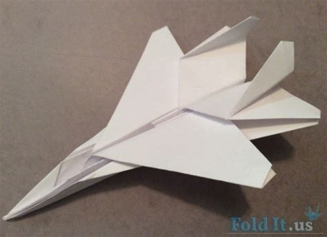 origami f 15 f15 paper airplane