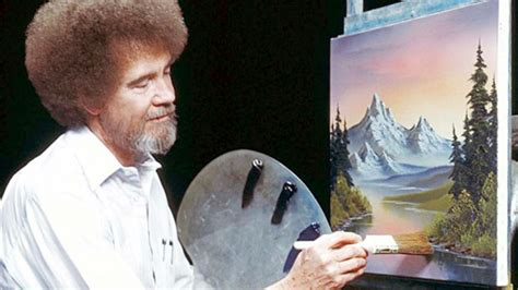 tv programm bob ross painting you can now the bob ross is everywhere