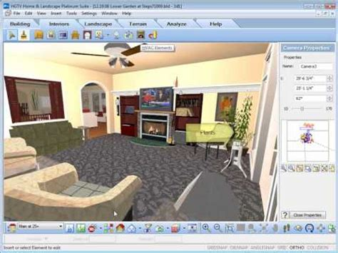 hgtv home design and remodeling suite software hgtv home design software inserting interior objects