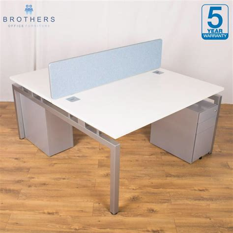 white bench desks quality used bench office desks brothers office furniture
