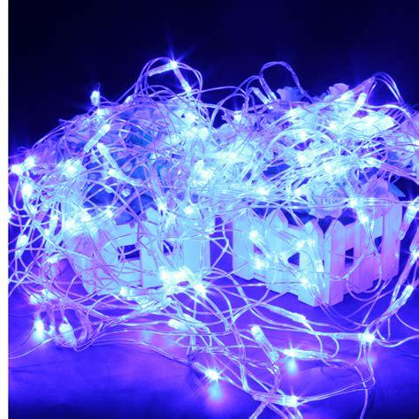 blue led net lights 120 blue led web net waterproof light for