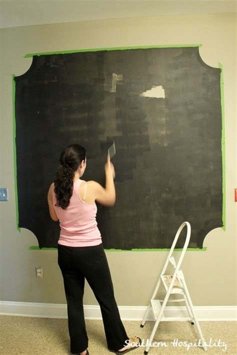 chalkboard painting tips a chalk board wall with frogtape
