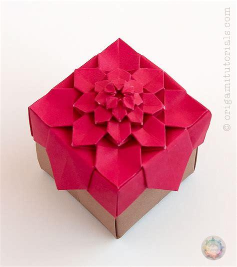 origami hydrangea origami hydrangea tessellation box origami tutorials