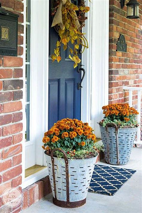 15 Unique Front Door Flower Pots To Wow Your Guests Site