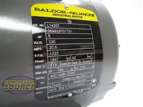 Electric Motor Frame by Baldor 7 5 Hp Single Phase Motor Wiring Diagram
