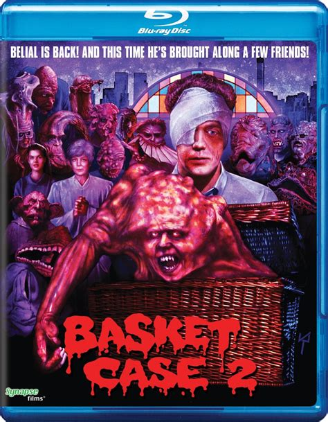 august 9th blu ray dvd releases include basket case - Basket Case