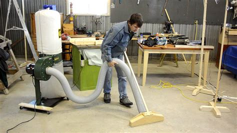 woodworking shop vacuum systems cheap dust collector review