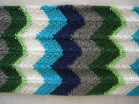 chevron knit pattern chevron scarf knitting pattern a knitting