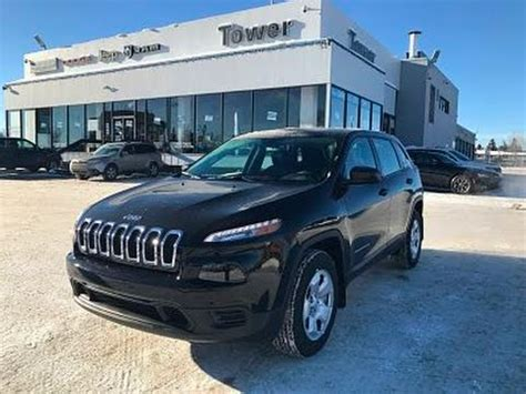 Tower Chrysler by 2017 Jeep Sport 4x4 H8244 Tower Chrysler