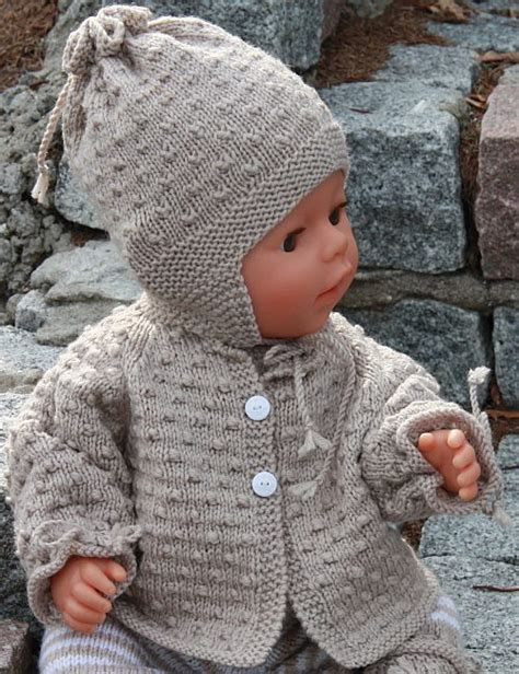 free knit patterns for baby free baby doll knitting patterns