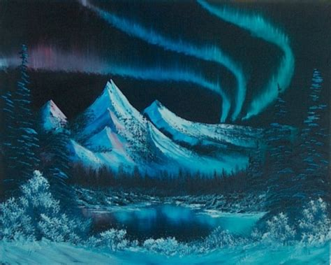 bob ross painting northern lights quotes by bob ross like success