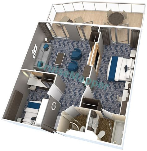of the seas floor plan harmony of the seas cabins and suites cruisemapper