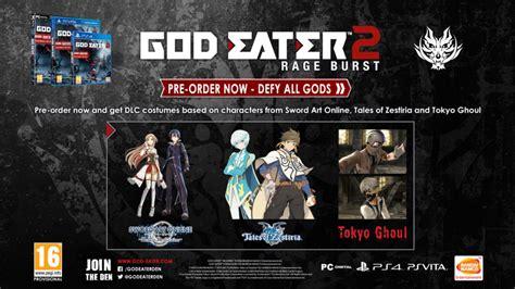 god eater order god eater official website
