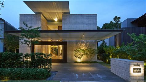courtyard home zen courtyard contemporary home in singapore inspired by