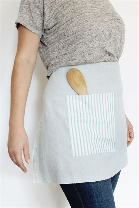 waist diy diy no sew waist apron almost makes