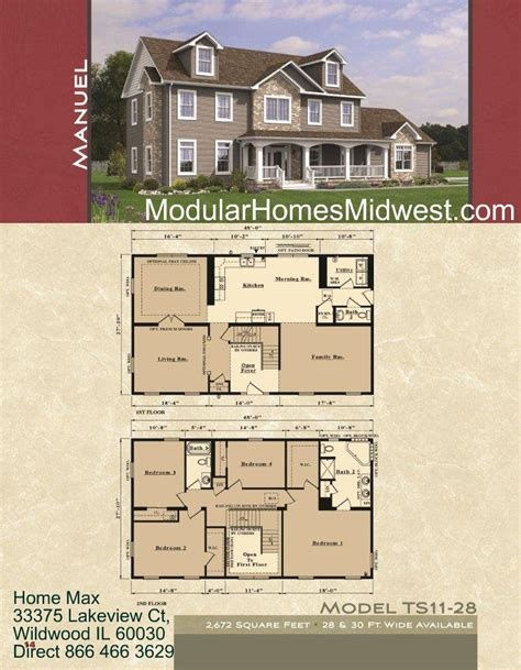 two story mobile homes floor plans modular home modular homes with open floor plans