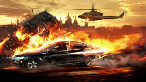 Car Explosion Wallpaper Hd by Car Explosion Wallpapers Hd Desktop And Mobile