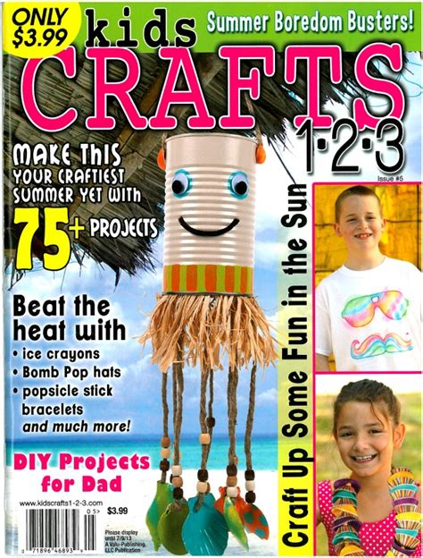 craft magazines for the sitcom is featured in crafts 1 2 3 magazine