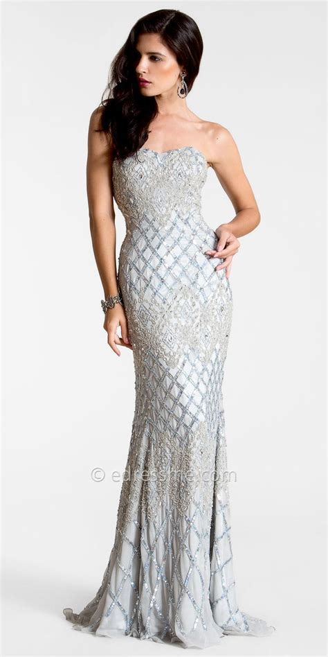 beaded evening dresses silver beaded evening gown dont me to wear this