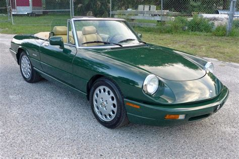 how it works cars 1994 alfa romeo spider 36k mile 1994 alfa romeo spider veloce ce for sale on bat auctions sold for 13 500 on