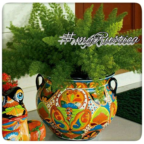 mexican pottery planters mexican talavera