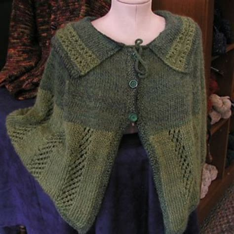 knit capelet capelet free pattern knit and crochet