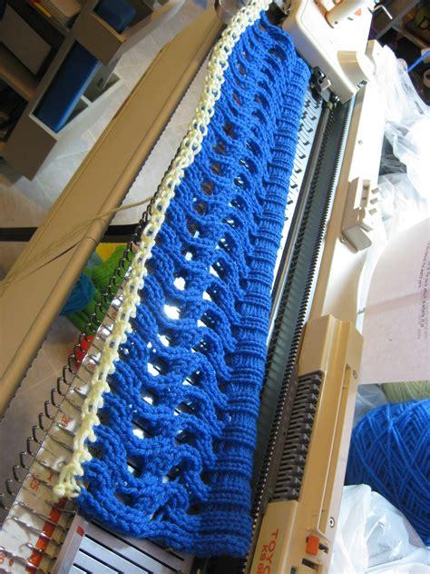 machine knitting machine knitting my new cap