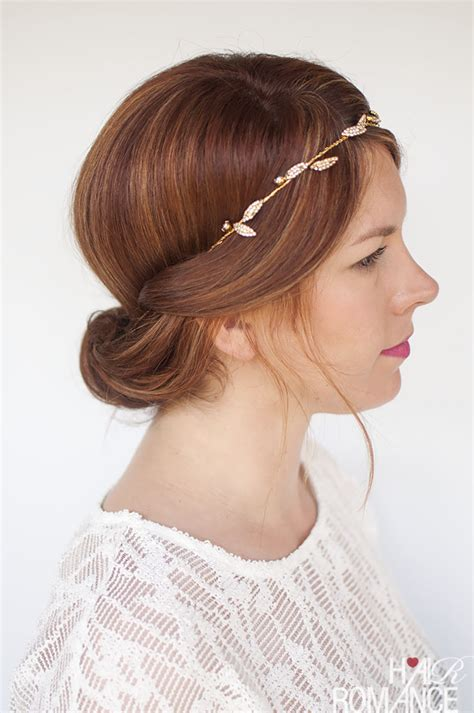 hair with wedding hair inspiration one headband three ways hair