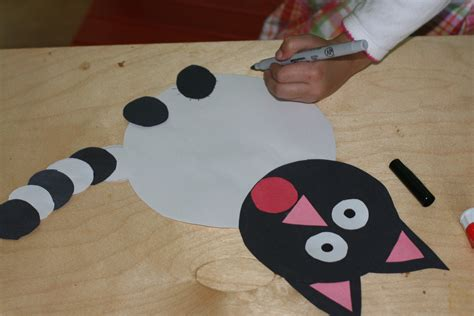 cat craft for crafts actvities and worksheets for preschool toddler and