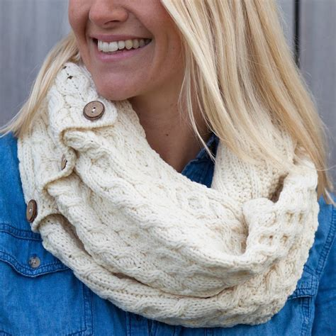knit snood cable knit snood by atlantic blankets